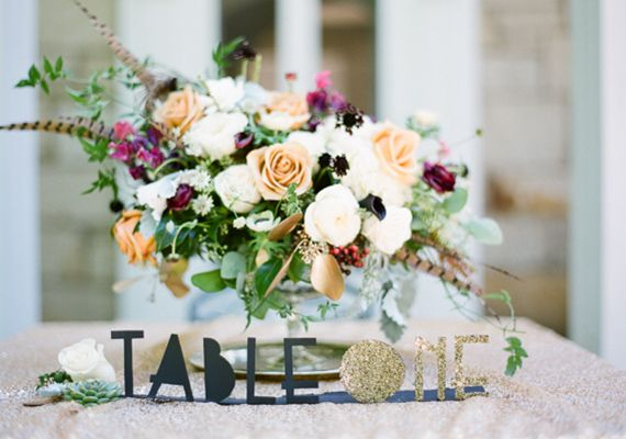 Classy art deco wedding reception ideas | photo by Hunter Harrison | 100 Layer Cake