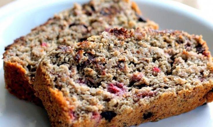 Mmm, ce pain Choco & framboises super moelleux... Une collation aussi gourmande que santé!
