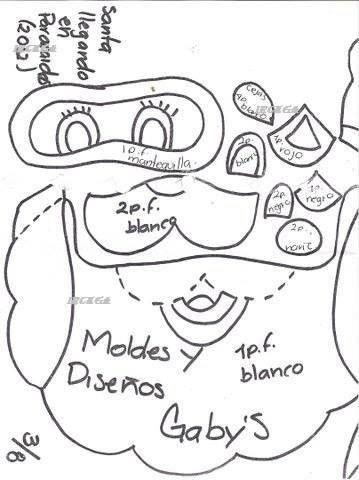 MOLDE N° 69 DE GABYS