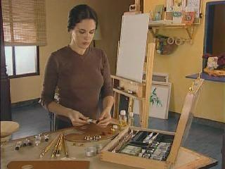 Видеоуроки по масляной живописи. Смешивание цветов на палитре.