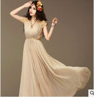 Find More Dresses Information about The 2015 ladies dress summer Korean high waisted new lace big code significantly thin Dress Chiffon Dress women dress,High Quality dress converter,China dresses japan Suppliers, Cheap dress a dress from wangtao on Aliexpress.com