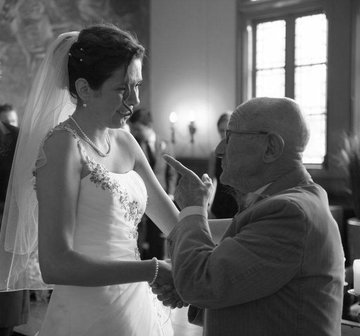 bruid met opa, goed advies is nooit weg ;-)