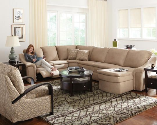 Art Van Furniture Living Room Sets: 1000+ Ideas About Reclining Sectional On Pinterest