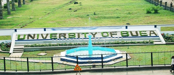 University of Buea, the first Anglo-Saxon University in Cameroon. Established by presidential decree in 1993.