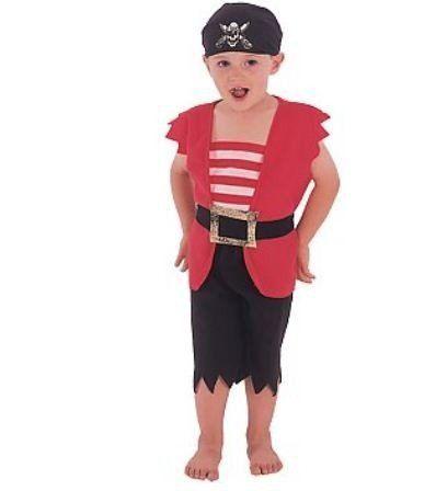 Piratenpak voor kinderen #piraat #pratenpak #piratenkostuum