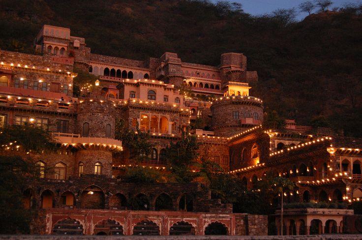 #india #hotel #vacation #nature #NeemranaFortPalace #palace #travel