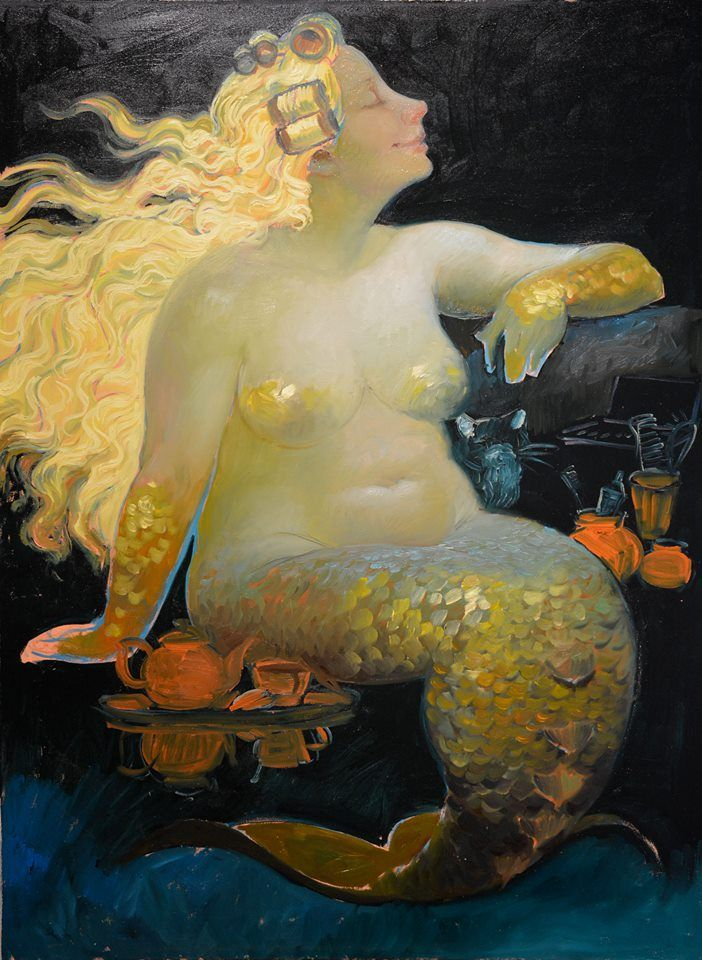 Title unknown Victor Nizovtsev. When did he do my portrait?