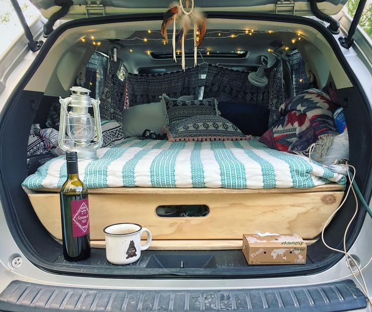 "1,283 Likes, 20 Comments - Elizabeth aka @van_grrrl (@van.crush) on Instagram: ""#CarCamping at its best. This is a Honda Fit! #VanCrush . . Repost from @Marywangen #vanlife…"""