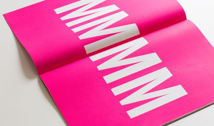 "vibrant Colour. ""MMM"" suggests indulgence, delicious. This can refer to food and the rich colour. It gives an idea of the brand, through style and design as well as content.  R7 King's Cross - Print Design - Brochure Design - Steve Edge Desgin"