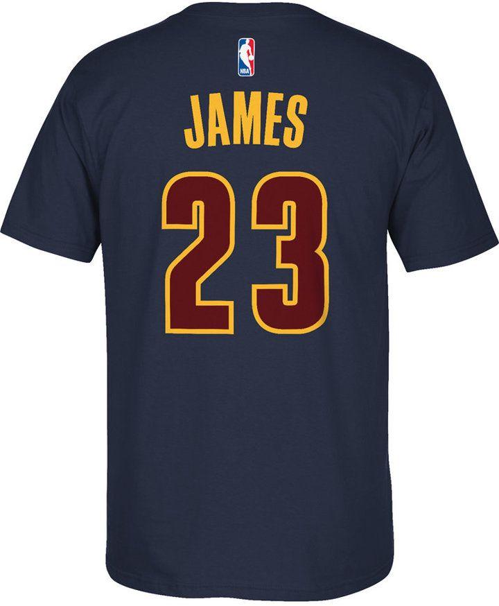 adidas Men's Short-Sleeve LeBron James Cleveland Cavaliers Player T-Shirt
