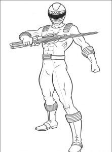Imagens para pintar dos Power Rangers - 58