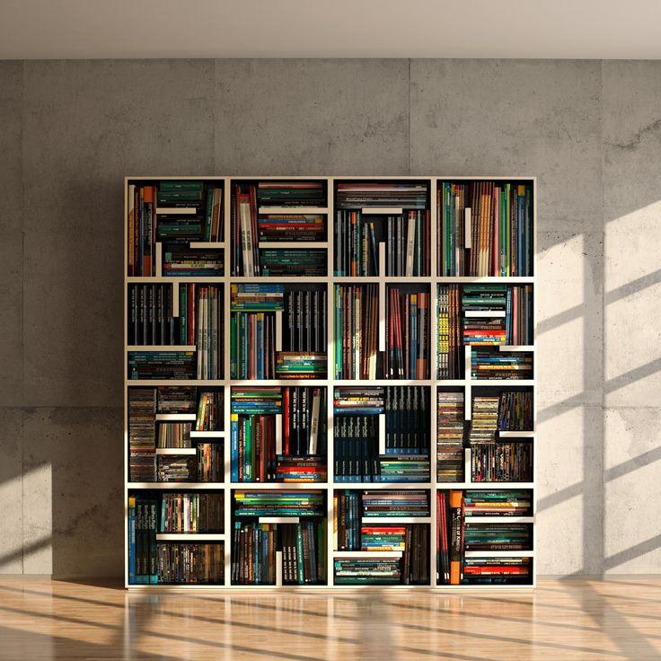Large Designer Book Shelf. - READ YOUR BOOK CASE