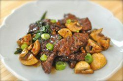 Pei Wei Mongolian Beef This image courtesy of copykat.com Copycat Pei Wei Mongolian Beef is even better than the real thing. It won't take long to master this Asian-inspired copycat dish. Delicious flank steak or tenderloin starts off the recipe. Ginger, cloves, and steam