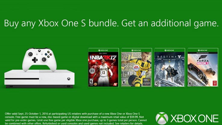 Buy Any Xbox One S Bundle, Get An Additional Game , http://goodnewsgaming.com/2016/09/buy-any-xbox-one-s-bundle-get-an-additional-game.html