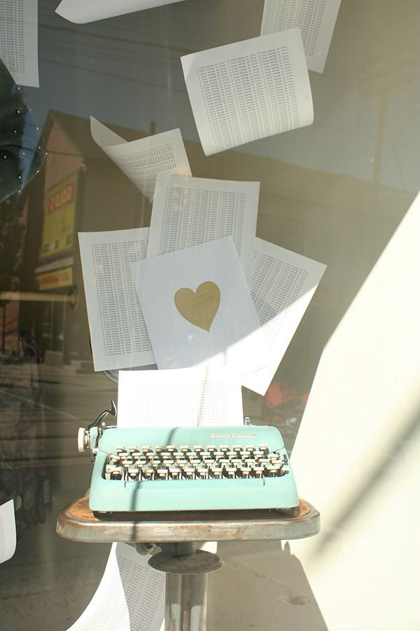 Recent Project: Girl Friday's Fall in Love Window   recreative works blog