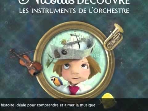 Nicolas découvre les instruments de l'orchestre Vous avez aimé « Piccolo, Saxo », vous adorerez les péregrinations enjouées de Nicolas à la découverte des in...