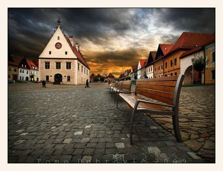 Bardejov, Town Hall Square