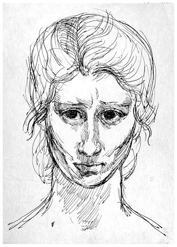 Eva Prokopová- autoportrét