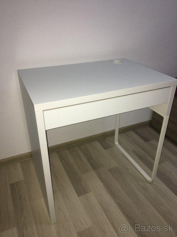 c18dc9e846921 Písací stôl/stolík z ikei MICKIE - Bratislava | M in 2019 | Nábytok