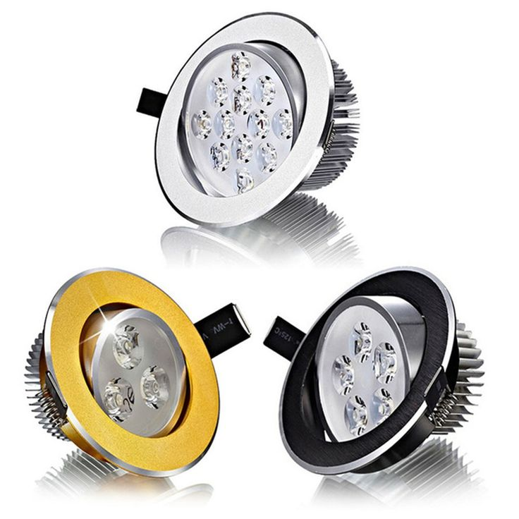 Hot Sale CREE 3W 5W 7W 9W 12W 15W LED Ceiling Downlight Dimmable led Downlight Recessed LED Spot Light AC85-265V