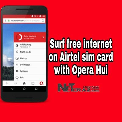 Free Internet on Airtel sim  Free internet trick in Opera handler  Free internet trick 2017  Surf free internet in Android device.  We all want to surf free internet but there in no way to do without recharge our data plan either Sim network provider or bandwidth service provider.  But luckily you can surf free internet easily if you have an Airtel sim card.  Free internet in Airtel sim card is free homepage bypass trick. So that isn't any hacking method or this may not cause any type of…
