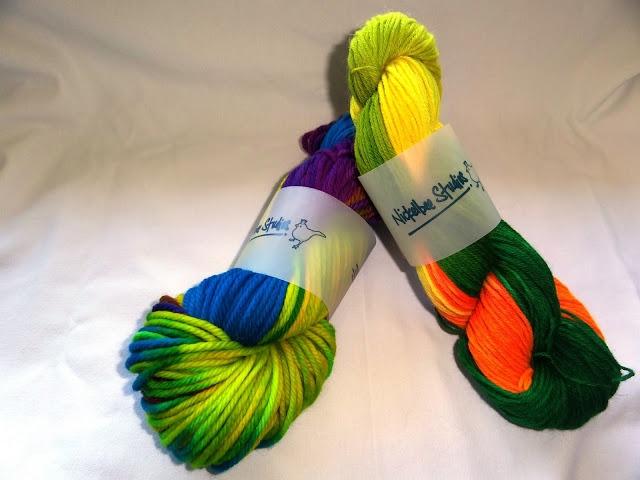 Hand Dyed Bulky Merino Wool