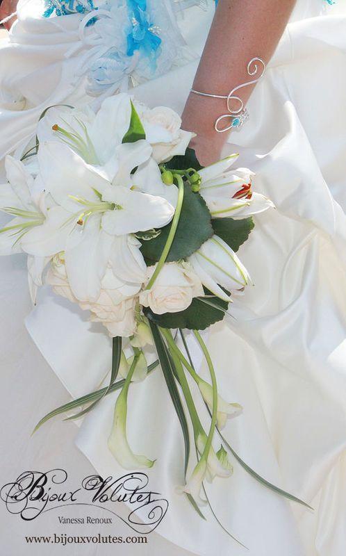 17 meilleures id es propos de bouquets de mariage bleu for Commander un bouquet