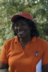 Renee Powell was the second black woman to play on the LPGA tour behind Althea Gibson. Powell played on the tour from 1967 to 1980. started playing golf at three years old. Her father, William Powell, is the only African American to design, build, own and operate a golf course in the U.S.- the Clearview Golf Club. Bill Powell wanted blacks to have a chance to golf without discrimination. He formed the first golf team at Wilberforce University in 1937 and is a life member of the PGA.