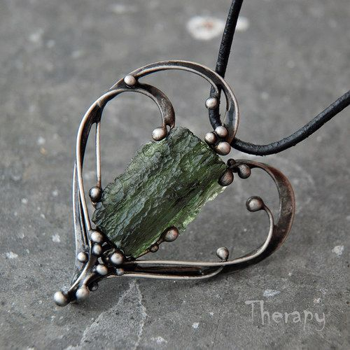 pendant by Therapy with gem