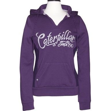 """One for the ladies"""" CAT Ladies Signature Hoody! Available at: http://mammothworkwear.com/cat-workwear/caterpillar-hoodies/cat-ladies-signature-hoody-p3357.htm"""