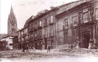 EDIFICIO DE VIVIENDAS Plaza de Porlier Hacia 1870