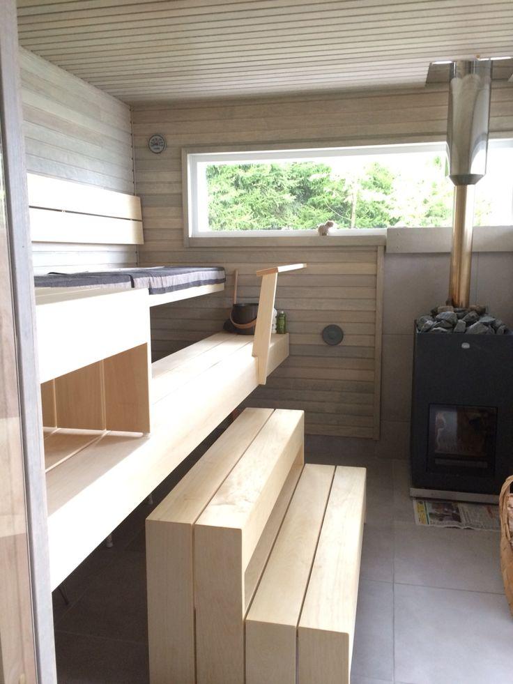 Summer cottage sauna