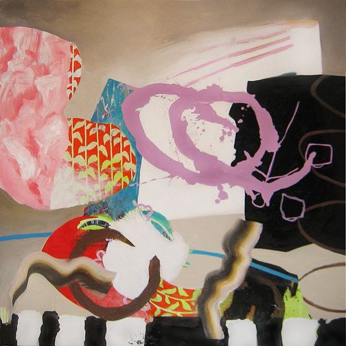 "CIRCUS - Oil on canvas, 36 "" x 36"" / 91.5cm x 91.5cm, 2007"
