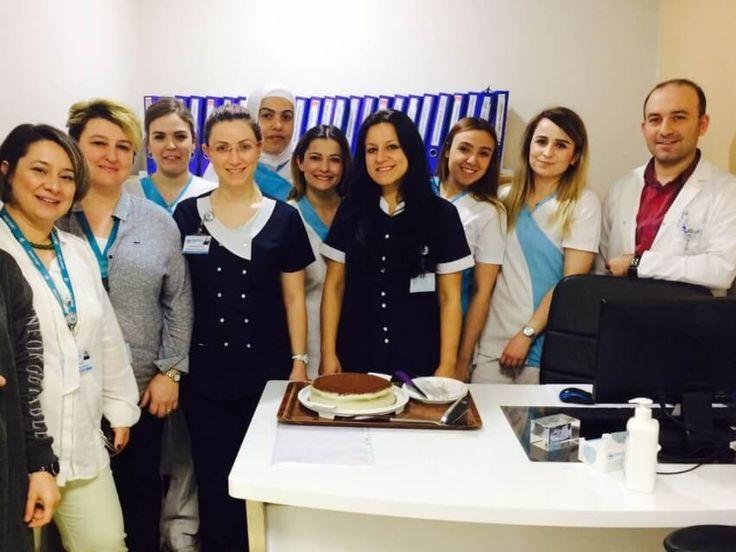 Hastanemizde azami titizlikle görev yapan laborantlarımızın Dünya Laborantlar Günü'nü kutladık.