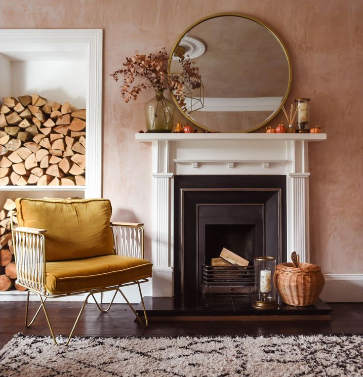 Fall Mantel Decorations, Fall Decor, Autumn Inspiration, Room Inspiration, Mantle Styling, Capricorn Season, Home Board, Autumn Decorating, Cosy Night In