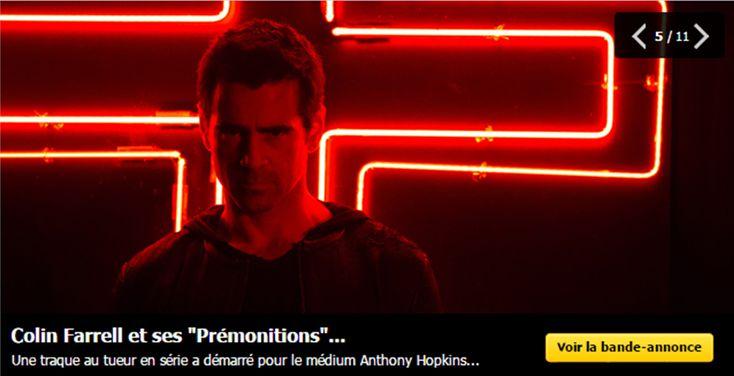 #PRÉMONITIONS http://po.st/PRÉMONITIONS #AnthonyHopkins #ColinFarrell 2 médiums,1 tueur en série, la traque va commencer
