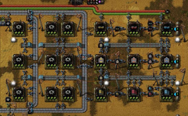 Factorio Advanced Circuit Blueprint Design Templates