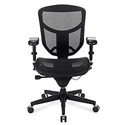 WorkPro PRO Quantum 9000 Series Ergonomic Mesh Mid Back Chair Black By Office  Depot U0026 OfficeMax
