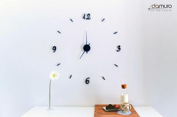 Birò  damuro your wall clock kit. Grande orologio da parete #diy #clocks #wallclocks