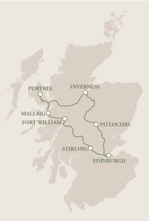 Tour Itinerary | Escape to the Highlands | Stunning Self-Drive Tour