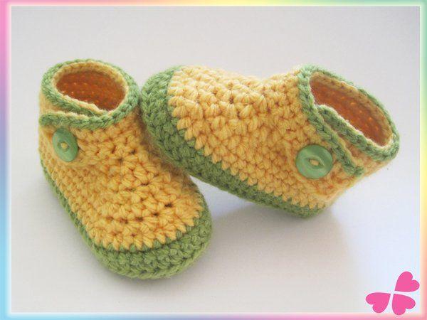 Kinder Schuhe Häkeln 4 Größen 20 21 22 23 Kinderschuhe Häkeln