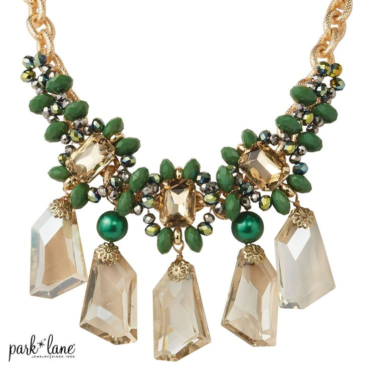 "Park Lane's ""The Grove"" Necklace - stunning, must have for your jewelry collection!   www.myparklane.com/julietullis #parklanejewelry #parklanejulie #myparklanestyle"