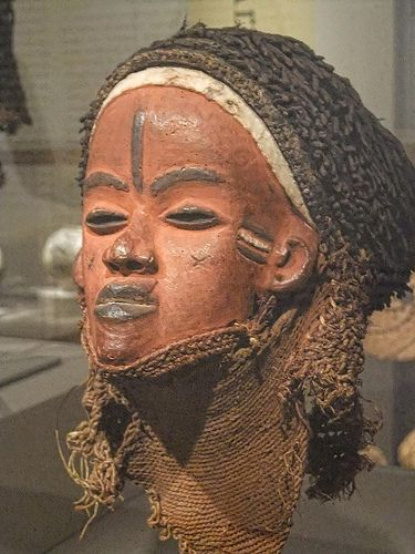 Mask (Mbuya) Pende Deomocratic Republic of Congo Early 20th century CE Wood