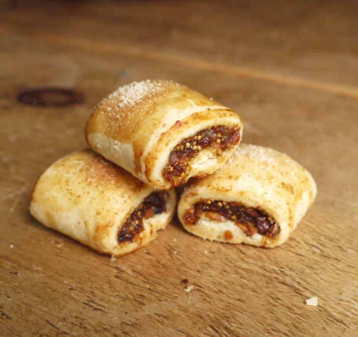 Festive Fig Rolls with Orange, Honey & Cinnamon