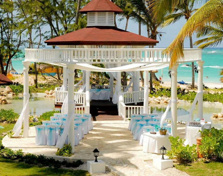 Grand Palladium Punta Cana Gazebo Destination Wedding Escapes Day Ideas Pinterest Bryllup Og
