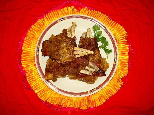 Cuisine of Karachi: Tabak Maaz (Kashmiri Dish)    طبق ماز