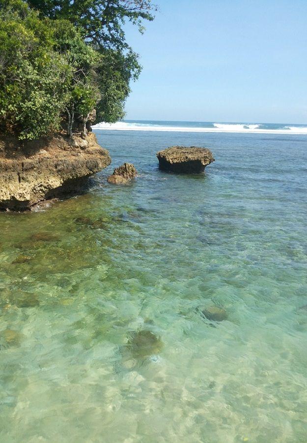 Balekambang #Coral #Beach #Malang #EastJava #Indonesia