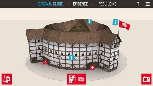 Rozšířená realita v londýnském divadle The Globe