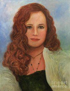Painting - Jennifer by Randol Burns