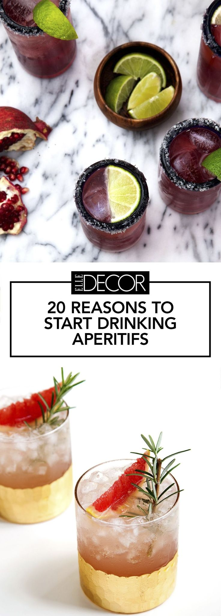 20 Best Aperitif Drinks To Try This Weekend - ELLEDecor.com